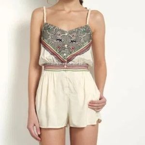 M NWOT Mara Hoffman Swim Embroidered Romper